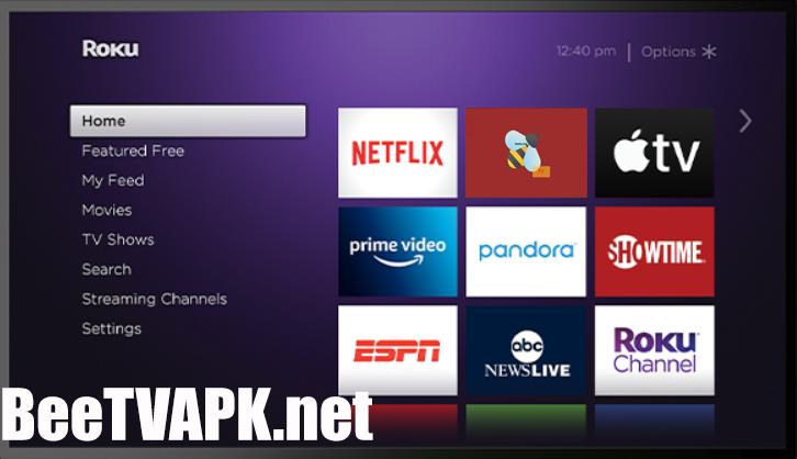BeeTV for Roku – Download Bee TV APK on Roku